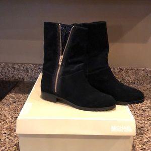 Black suede MICHAEL KORS boots